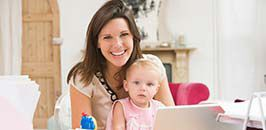 Studium Zielgruppe Mütter - online Lernen